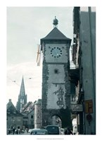 Clock Tower I Fine Art Print