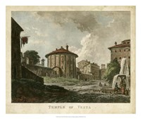Temple of Vesta Fine Art Print