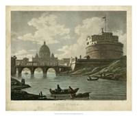Ponte St. Angelo Fine Art Print