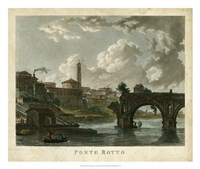 Ponte Rotto Fine Art Print