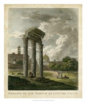 Temple of Jupiter Fine Art Print