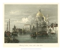 Church of Santa Maria della Salute Fine Art Print