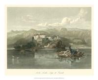Isola Lecchi, Lago di Guarda, Italy Fine Art Print