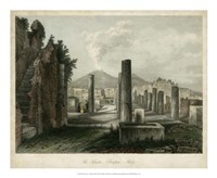 The Forum- Pompeii, Italy Fine Art Print