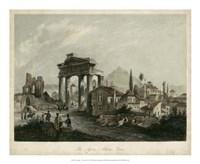 The Agora- Athens, Greece Fine Art Print