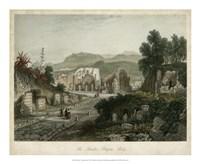 Theatre- Pompeii, Italy Fine Art Print