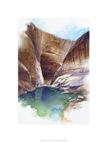 Escalante Canyon - Lake Powell, Ut. Fine Art Print