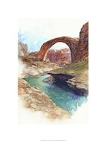 Rainbow Bridge - Lake Powell, Ut. Fine Art Print