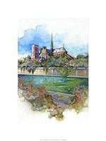 Notre Dame - Paris, France Fine Art Print