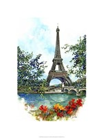 Eiffel Tower - Paris, France Fine Art Print