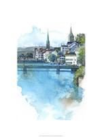 Zurich, Switzerland Fine Art Print