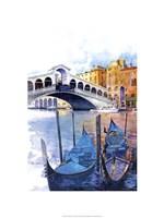 Rialto Bridge - Venice Italy Fine Art Print