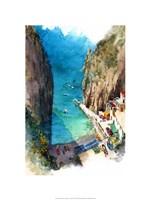 Marina de Praia - Amalfi Coast Fine Art Print