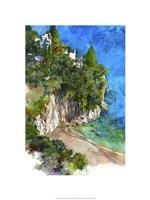 Arienzo Beach - Amalfi Coast, Italy Fine Art Print
