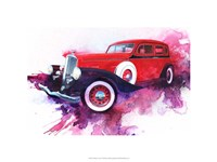 '34 Pierce Arrow Fine Art Print