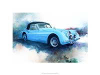 '53 Jaguar Fine Art Print