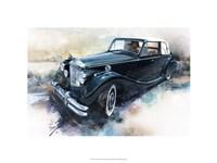 '50 Jaguar Fine Art Print