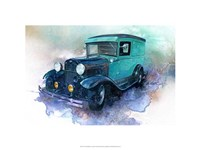 '30 Ford Delivery Truck Fine Art Print