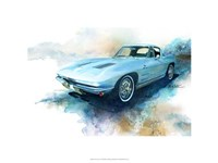 '63 Corvette Framed Print