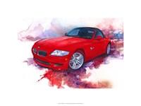 '06 BMW Z4 Fine Art Print