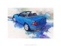 '82 Mercedes SLK Fine Art Print