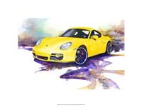 '06 Porsche Cayman Fine Art Print