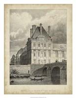 Pavillon de Flore & Pont Royal Fine Art Print