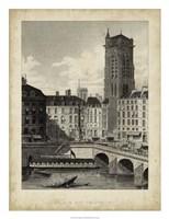 Place du Chatelet Fine Art Print