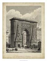 Porte St. Denis Fine Art Print