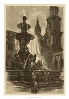 Market Square I Fine Art Print