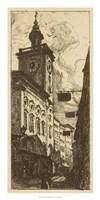 Town Hall I Fine Art Print