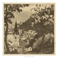 View of Salzburg I Fine Art Print