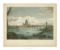 View of London Fine Art Print