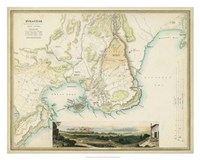 Map of Syracuse Fine Art Print