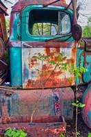 Tow Truck Door Fine Art Print