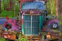 Tow Truck Front Fine Art Print