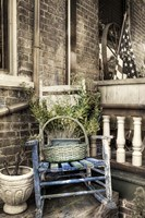 Rocking Chair BW Fine Art Print