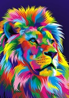 Lion New Fine Art Print