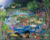 Lagoon #1 Playmates Fine Art Print