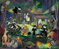 Witches in the Woods Fine Art Print