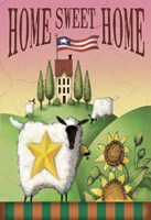 Sheep Home Sweet Home Fine Art Print