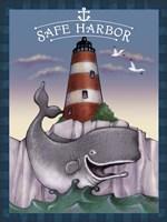 Harbor Town 3 Fine Art Print