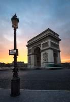 Paris Arch Of Triumph Fine Art Print