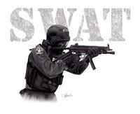 SWAT Fine Art Print