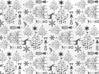 Silver Ice Layout 6 Fine Art Print