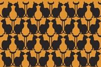 Hallo Handsome Cats Fine Art Print