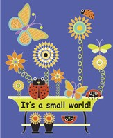 It's a Small World Flag Fine Art Print