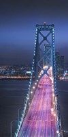 Oakland Bridge 1 Color Fine Art Print