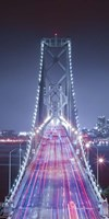 Oakland Bridge 3 Color Fine Art Print