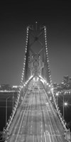 Oakland Bridge 3 BW Fine Art Print